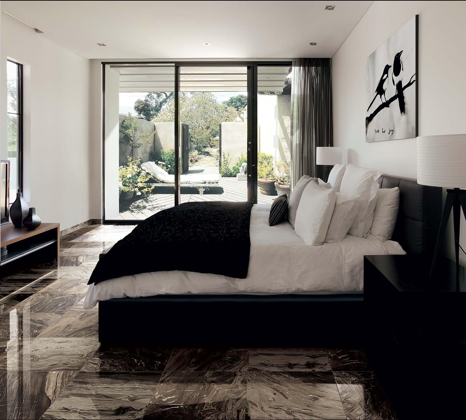 Chambre_Hotel_Haut_De_Gamme_Sol_Carrelage_Marbre_Brun_1