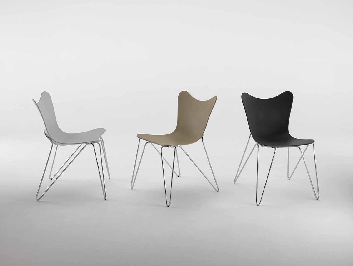 chaise design arrondi hmb10 trp hotel. Black Bedroom Furniture Sets. Home Design Ideas
