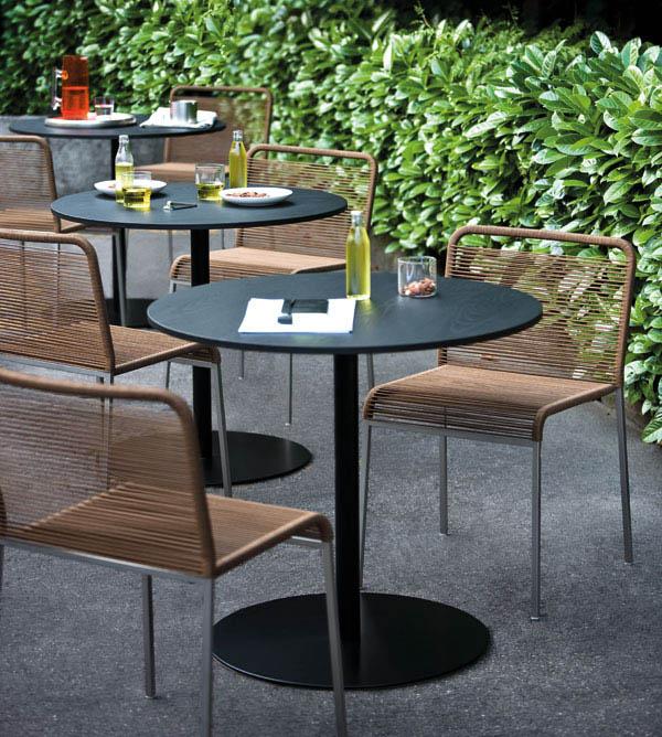 Mobilier ext rieur hotel for Mobilier tresse exterieur